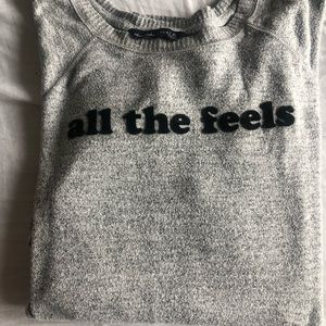 Abercrombie and Fitch light weight sweatshirt.